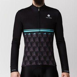 Bluza Kolarska Cubes Black